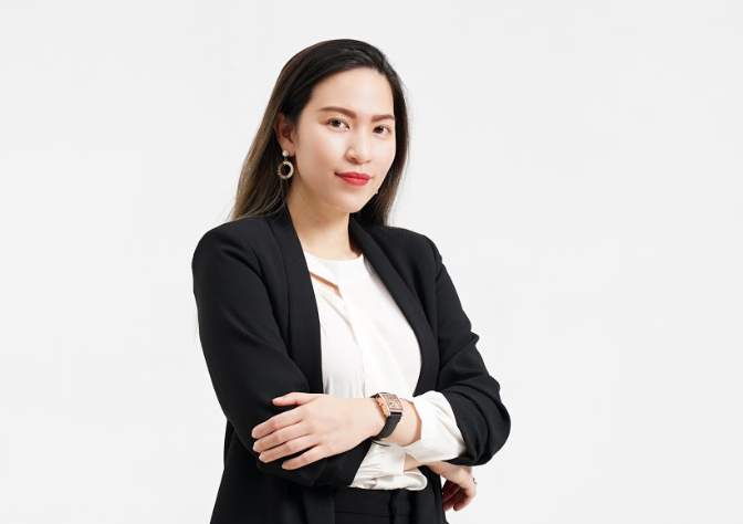 Doan Kieu My, founder of YellowBlocks and Women in Tech Vietnam was featured on HEC for Women