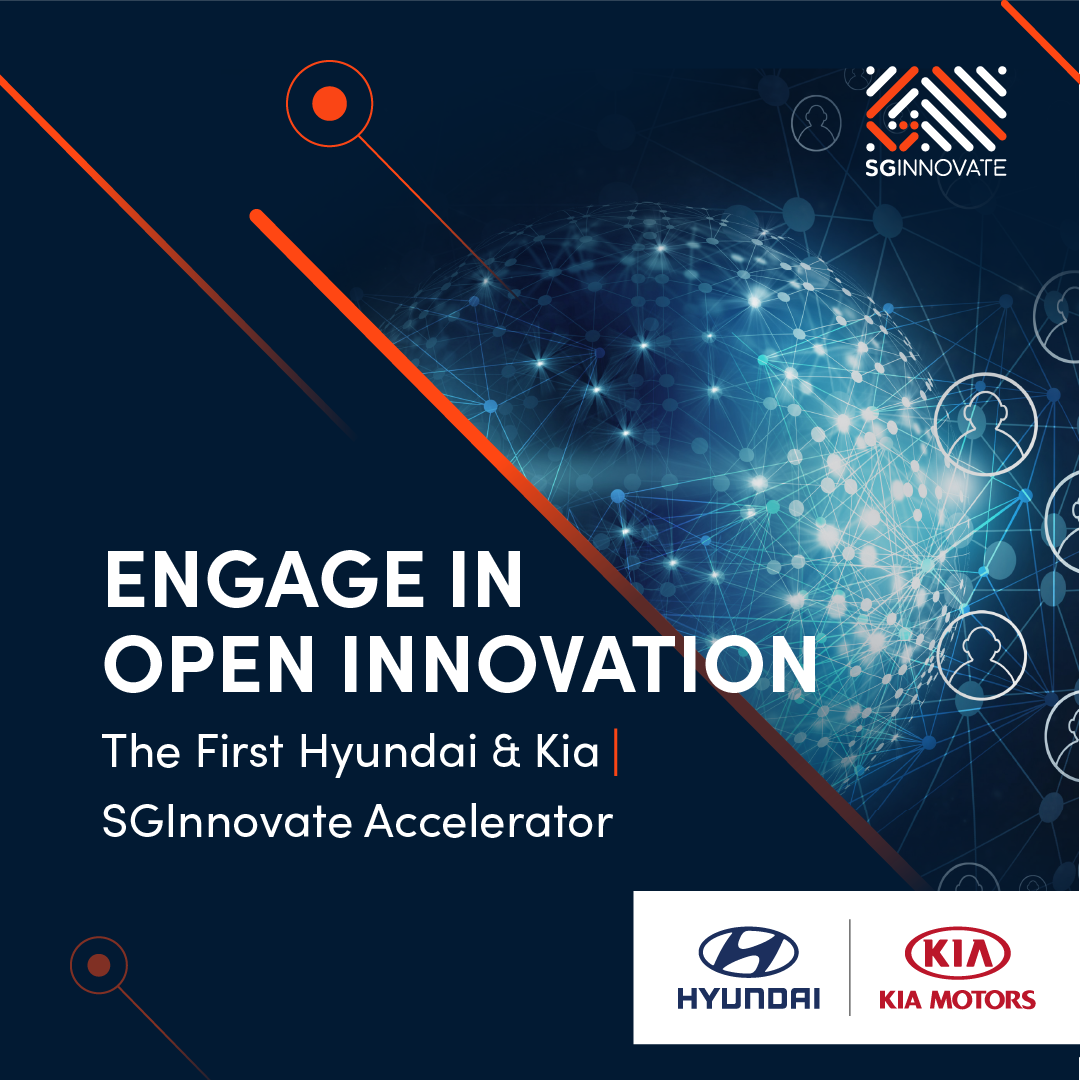 Calling all startups based in SEA to join the Hyundai & Kia | SGInnovate Accelerator Programme 2020
