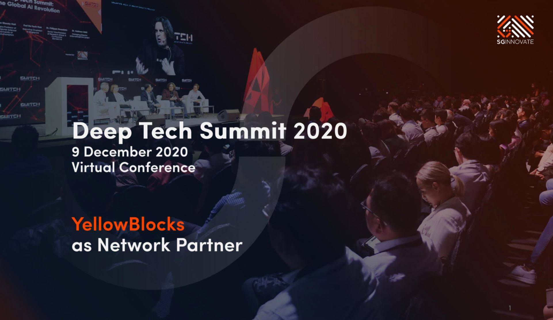 YellowBlocks x Enterprise Singapore: Deep Tech Summit 2020